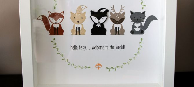 Stampin'party: Cadre Foxy friends / Stampin'party: Foxy Friends frame