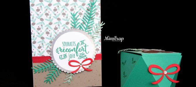 Stampin'Party: Un ensemble carte et boite pour découvrir le scrap et les nouveautés !